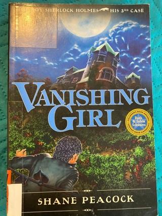 Vanishing Girl Book