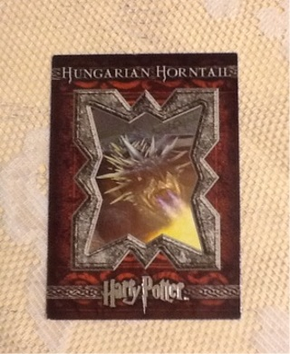 Harry Potter Hungarian Horntail Movie Card