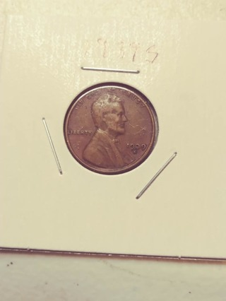 1939-S Lincoln Wheat Penny! 102