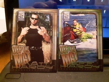 2 - 2002 WWF OFF THE MAT WRESTLING CAEDS