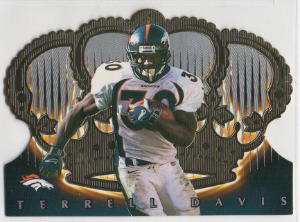 1998 Crown Royale Terrell Davis #34