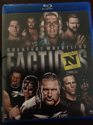 Blu-Ray WW Greatest Wrestling Factions