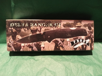 BNIB ~ DELTA RANGER III TACTICAL POCKET KNIFE W/CLIP
