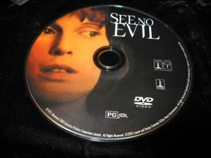 "DVD ""SEE NO EVIL"""