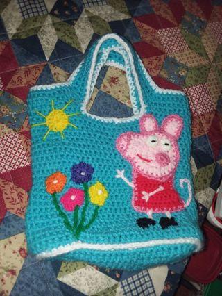 Peppa pig purse FREE SHIPPING