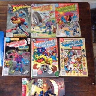 7 Fun Comic books, lot O-1 Comic