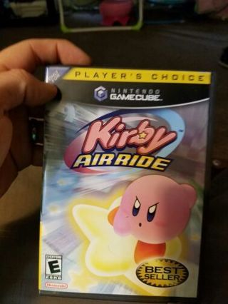 Kirby Air Ride for GameCube.
