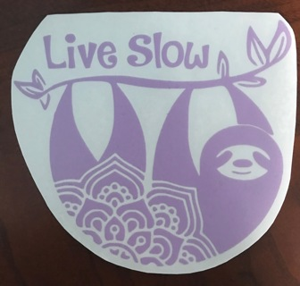 ✿Live *✿•Slow•✿* Decal✿