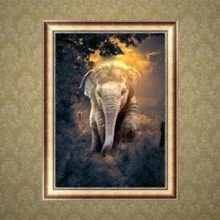 Animal Elephant DIY 5D Diamond Painting Embroidery Cross Stitch Wall Home Decors