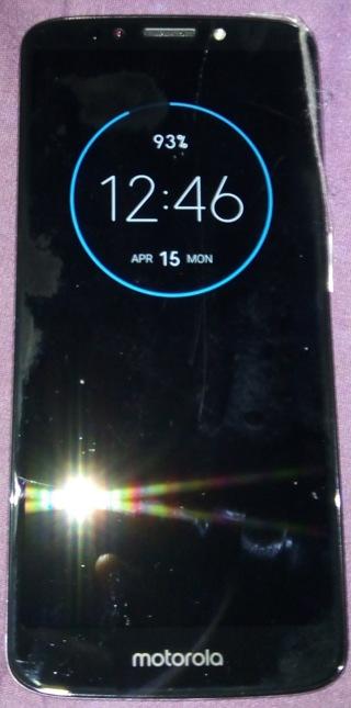 Motorola E5 (Simple Mobile Prepaid) Smartphone - Bid Only!!!