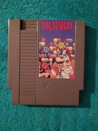 Nintendo Entertainment System Dr. Mario Video Game