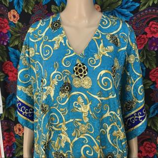 WOMEN'S MUMU DRESS LIGHT WEIGHT FREE SIZE 4X / 5X Ashro FREE SHIPPING