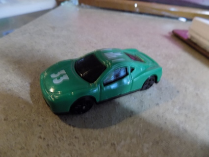 Green plastic # 33 car