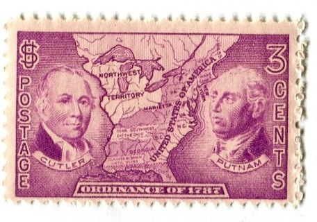 FREE US Mint Stamp 3 Cents Ordinance Of 1787 Cutler And Putnam MNH