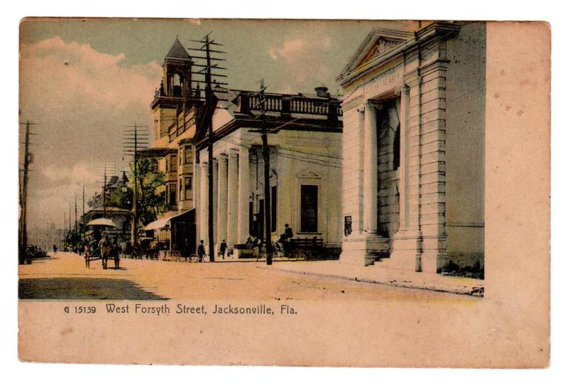 Free vintage postcard jacksonville fl other art for Michaels crafts jacksonville fl