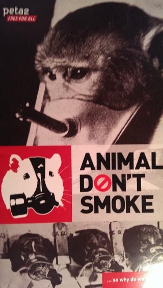 ANIMALS DON'T SMOKE