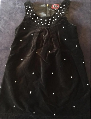 Children's Place Velour Dress 6