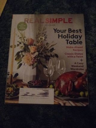 New Real Simple Magazines
