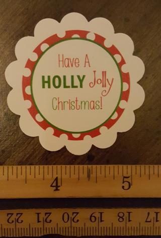 HollyJolly Christmas Magnet 4