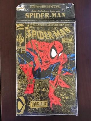 ** Spider-Man comic lot, sealed! **