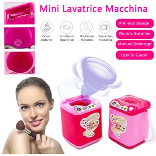 Mini Electric Makeup Brush Cleaner Washing Machine Cosmetic Brush Powder Washer Beauty Blender Tool