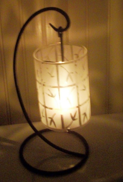 Free: Partylite Bamboo Lantern Asian Etched Candle Sconce - Other Home & Gardening Items ...