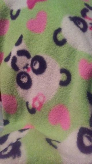 Children's Place Panda Girls Footed Sleeper 18-24 months