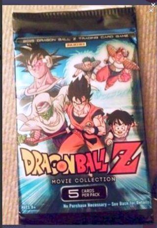 1 DRAGON BALL Z BOOSTER PACK anime DBZ cards Goku dbz manga dragonball EVOLUTION pack