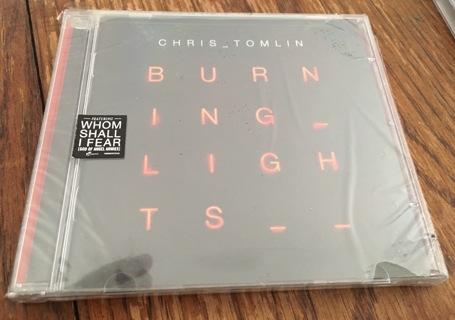 New- Chris Tomblin - Burning Lights CD