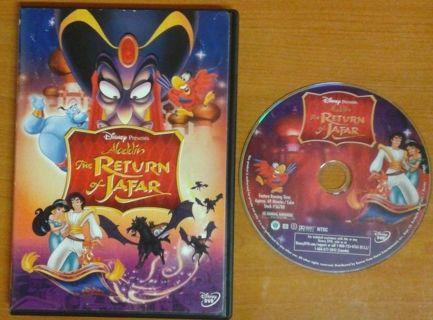 Disney's Aladdin: The Return of Jafar (DVD, 2005)