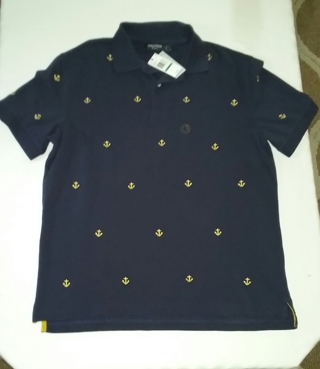 Men's Nautica SLIM FIT Polo Shirt Size Large