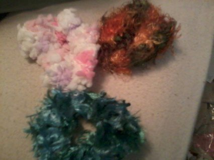 Scrunchies made by Girly Girls Boutique
