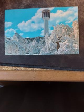 Seagram Tower In Winter Postcard