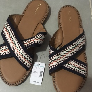 Maurice's sandals. Size 10