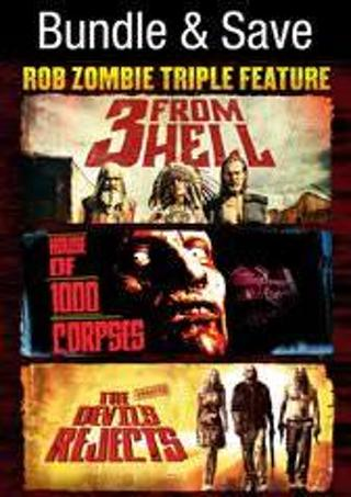Rob Zombie Triple Feature Bundle - HD Vudu Digital Copy Code