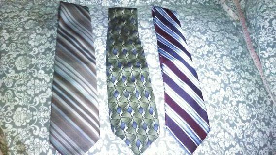 Lot of 3 Neck Ties