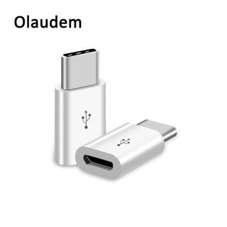 Olaudem Phone Cable USB C 3.1 Male to Micro USB Cable Fast Charging Converter Female Adapter USB T