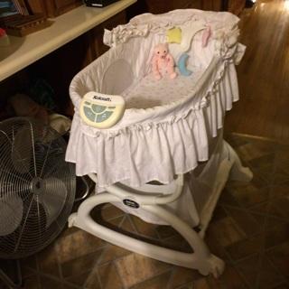 kolcraft rocking bassinet instructions
