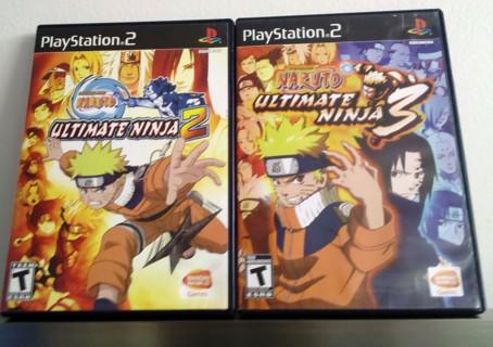 Shonen Jump: Naruto - Ultimate Ninja 2 & 3 –PlayStation  2