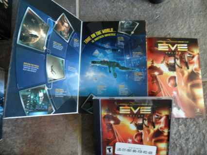 Eve Online for Pc.  Complete. Like new condition!!!!