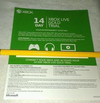free xbox live prepaid codes