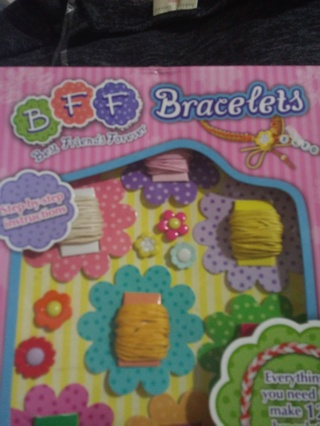Bff bracelet making kit