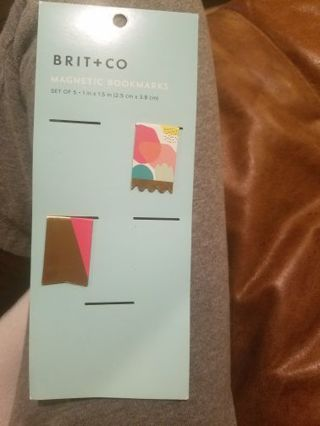 2 colorful brit co bookmarks