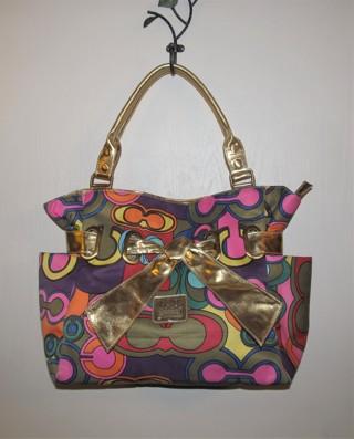 Large Colorful Tote Shoulder Bag
