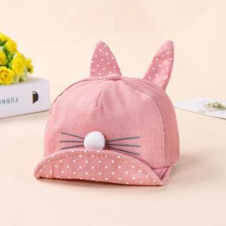 ideacherry Fashion Rabbit Design Baby Hat Spring Summer Hats For Boys Girls Multicolor Casual Buck