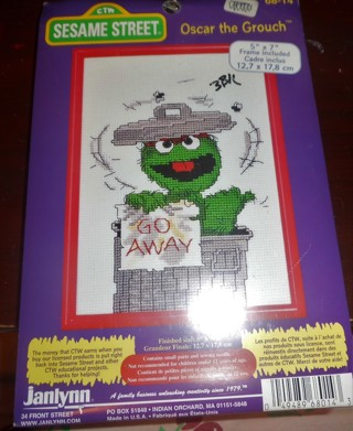 Sesame Street Counted Cross Stitch - Kit