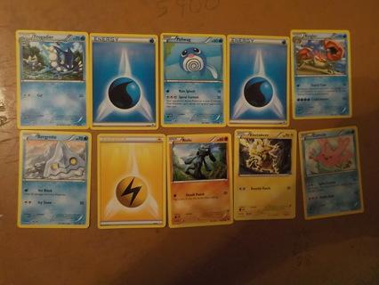 10 POKEMON TRADING CARDS LOT 5