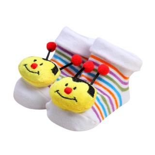 TELOTUNY baby socks anti slip Cartoon Newborn Baby Girls Boys Anti-Slip Sock