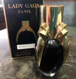 Lady Gaga Fame Black Fluid Perfume 15 ml 0.5 Fl oz. in Box