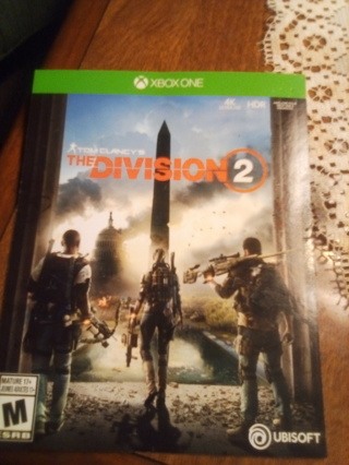 Tom Clancy's the Division 2 Xbox 1 full game dlc